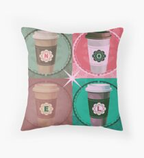 Java Noel Throw Pillow