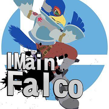 I Main Falco - Super Smash Bros. Ultimate by PrincessCatanna
