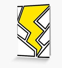 Lightning Bolt Greeting Card