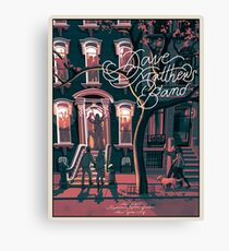 POSTER Dave Matthews Band NOVEMBER 30, 2018 MADISON SQUARE GARDEN NEW YORK CITY Canvas Print