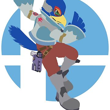 Falco - Super Smash Bros. Ultimate by PrincessCatanna