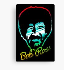 bob ross Canvas Print