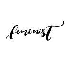 «Feminista. Sola palabra escrita a mano» de Anna Kutukova