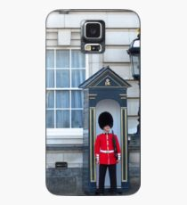 Buckingham Palace, Lamp, Soldier & Sentry Box Case/Skin for Samsung Galaxy