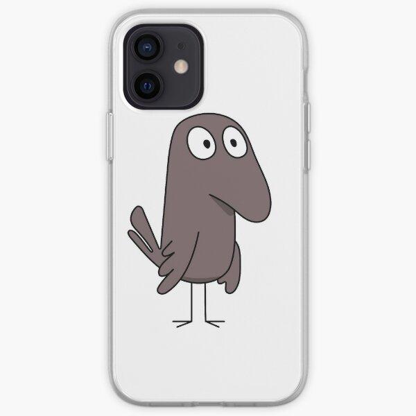 Cuervo cuervo Hilda Funda blanda para iPhone