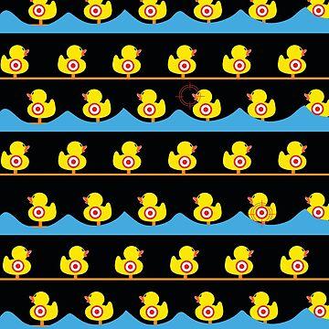 Rubber Duckies Target Game by underwatercity
