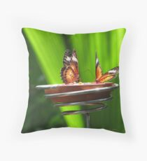 .duelling antennae. Throw Pillow