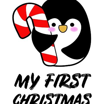 Penguin - My First Christmas by GiggleTees