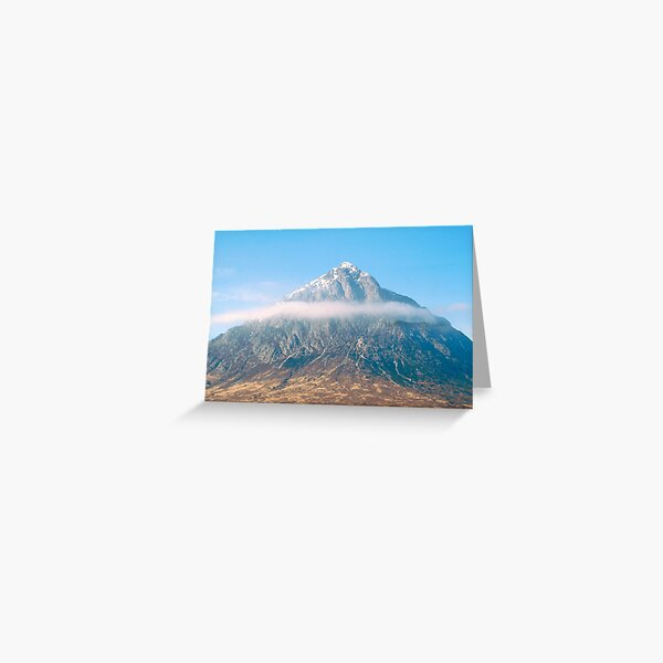 Buachaille Etive Mor 60 , the Highlands Greeting Card