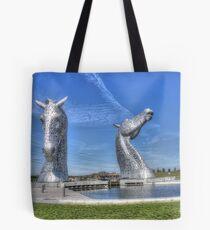 The Kelpies sculptures  Tote Bag