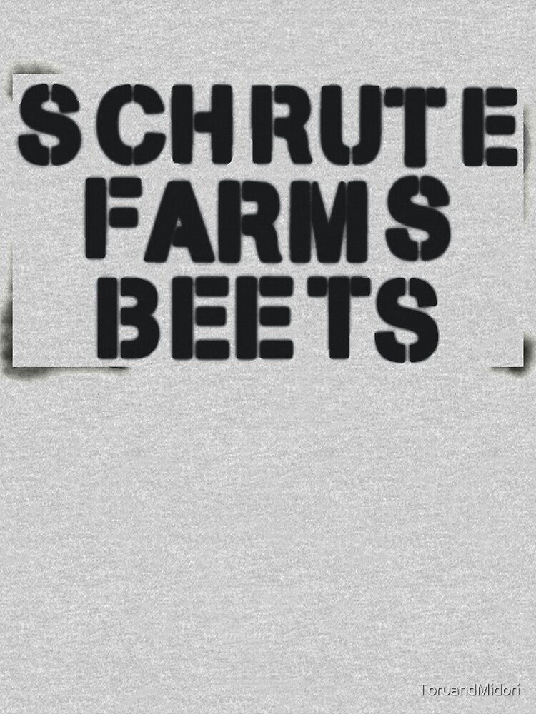 SCHRUTE FARMS BEETS by ToruandMidori