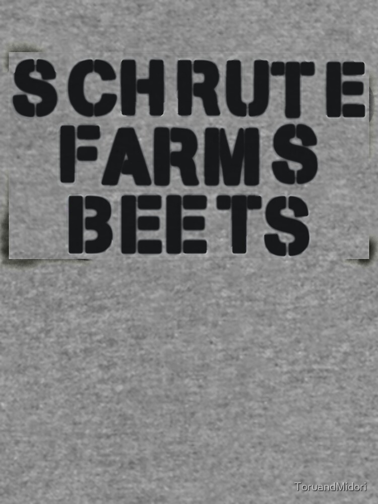 SCHRUTE FARMS BEETS by ToruandMidori