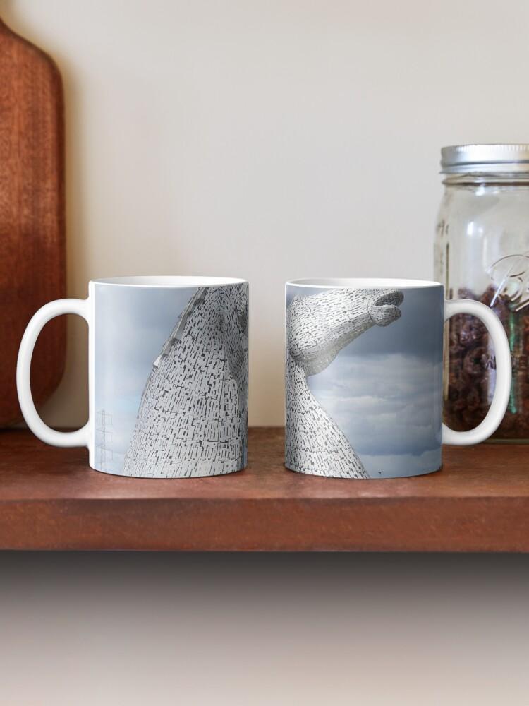 Alternate view of The Kelpies gifts , Helix Park, Scotland Mug