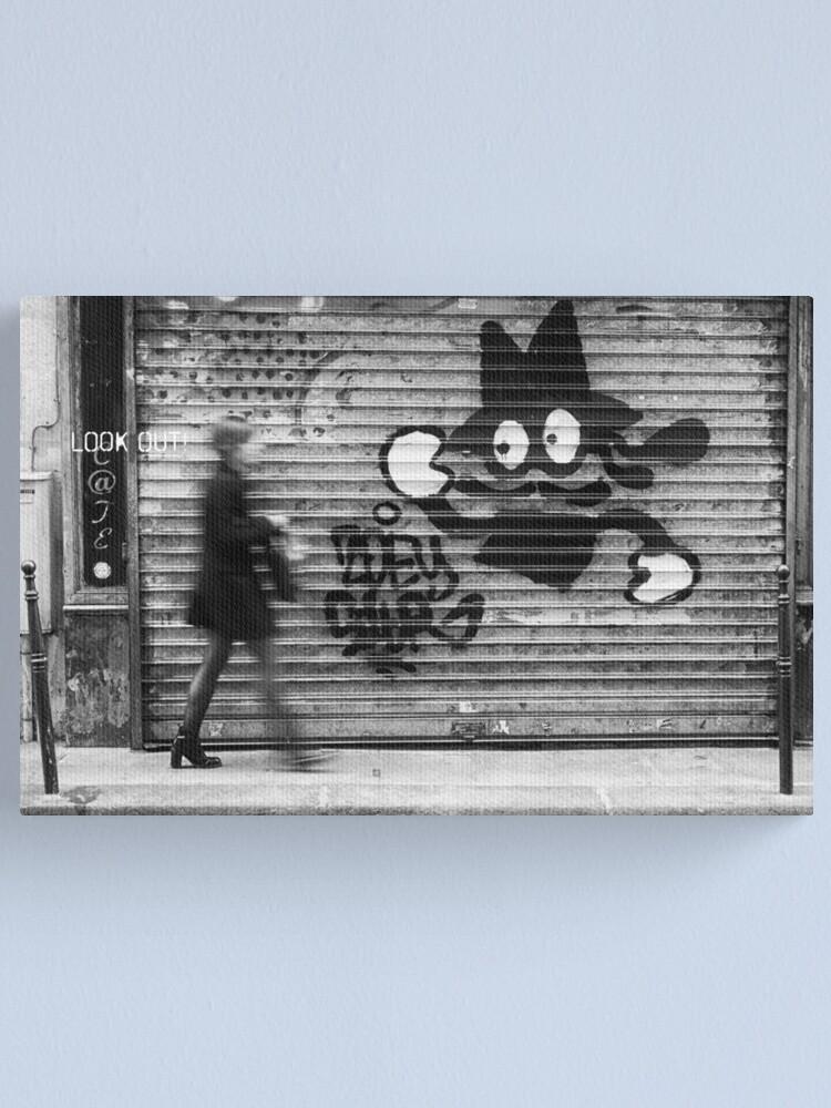 Alternate view of Paris Streets 4 Canvas Print