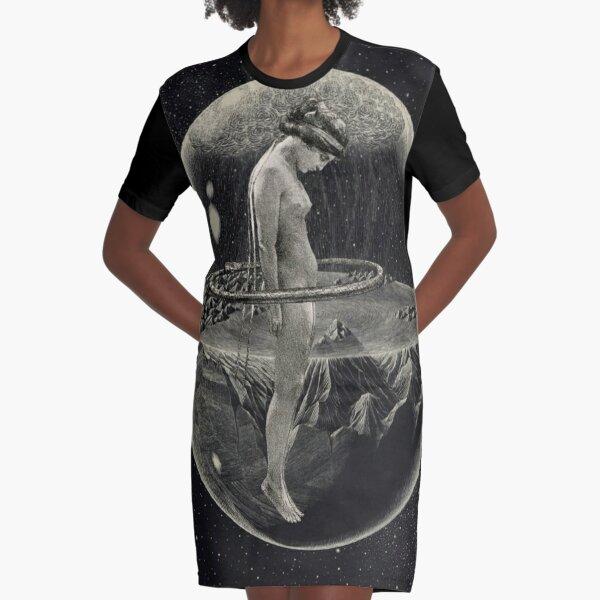 THE ORIGIN Graphic T-Shirt Dress