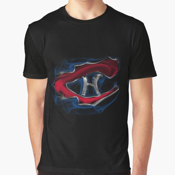Montreal Canadiens Smoke Graphic T-Shirt
