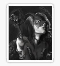 Demon Woman Sticker