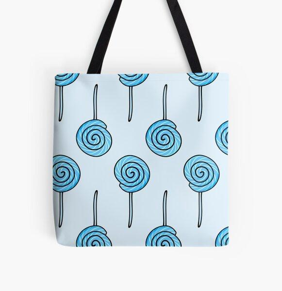 Smurf Lollipop All Over Print Tote Bag
