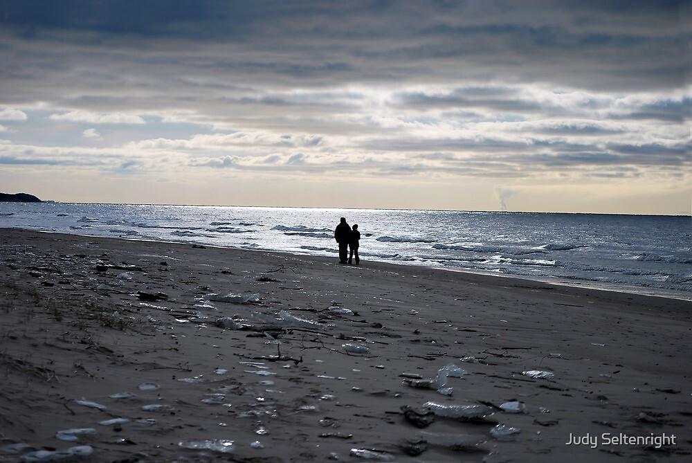 Sunset Walk by Judy Seltenright