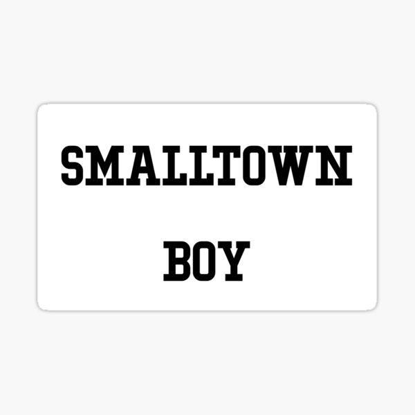 smalltown boy black Sticker
