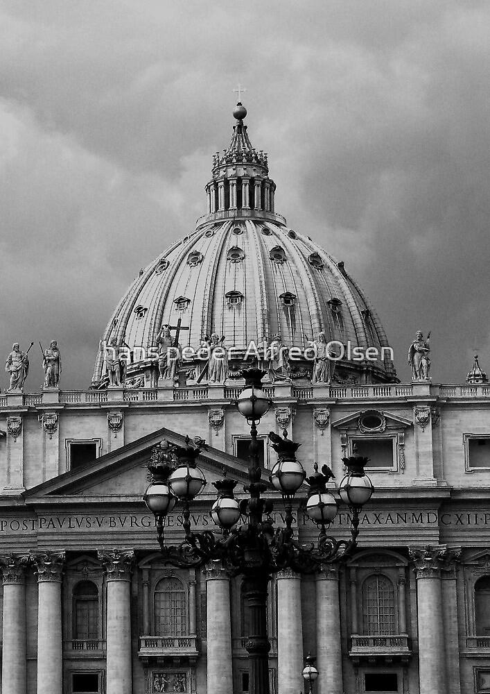 St. Peters Basilica by hans peðer alfreð olsen
