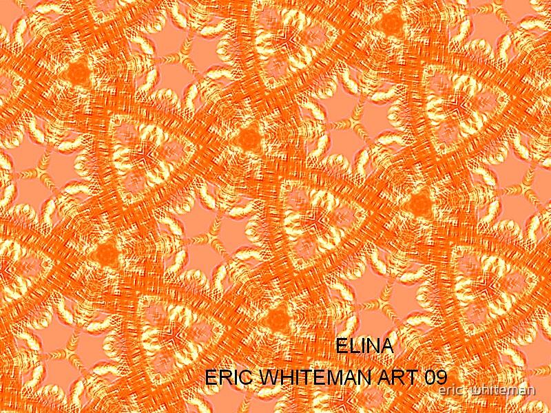 ( ELINA )  ERIC WHITEMAN  ART   by eric  whiteman