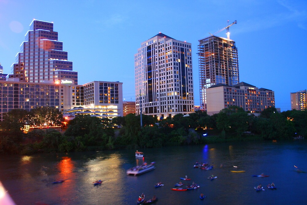 Austin view by Travis Niebuhr