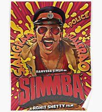 SIMMBA - Ranveer Singh Poster