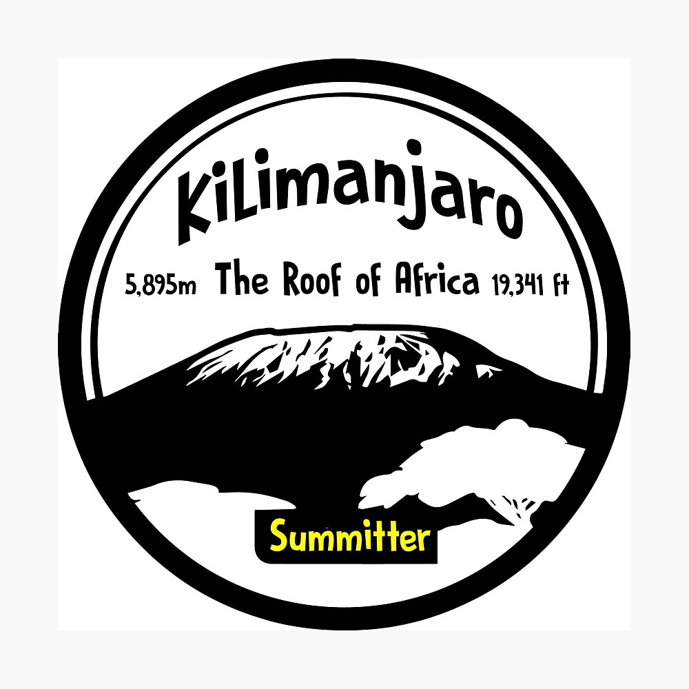Kilimanjaro Summitter - The Roof of Africa Photographic Print