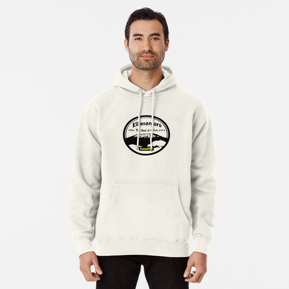 Kilimanjaro Summitter - The Roof of Africa Pullover Hoodie
