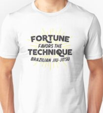 Fortune Favors the Technique T-Shirt