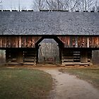 Cantilever Barn by Douglas  Stucky