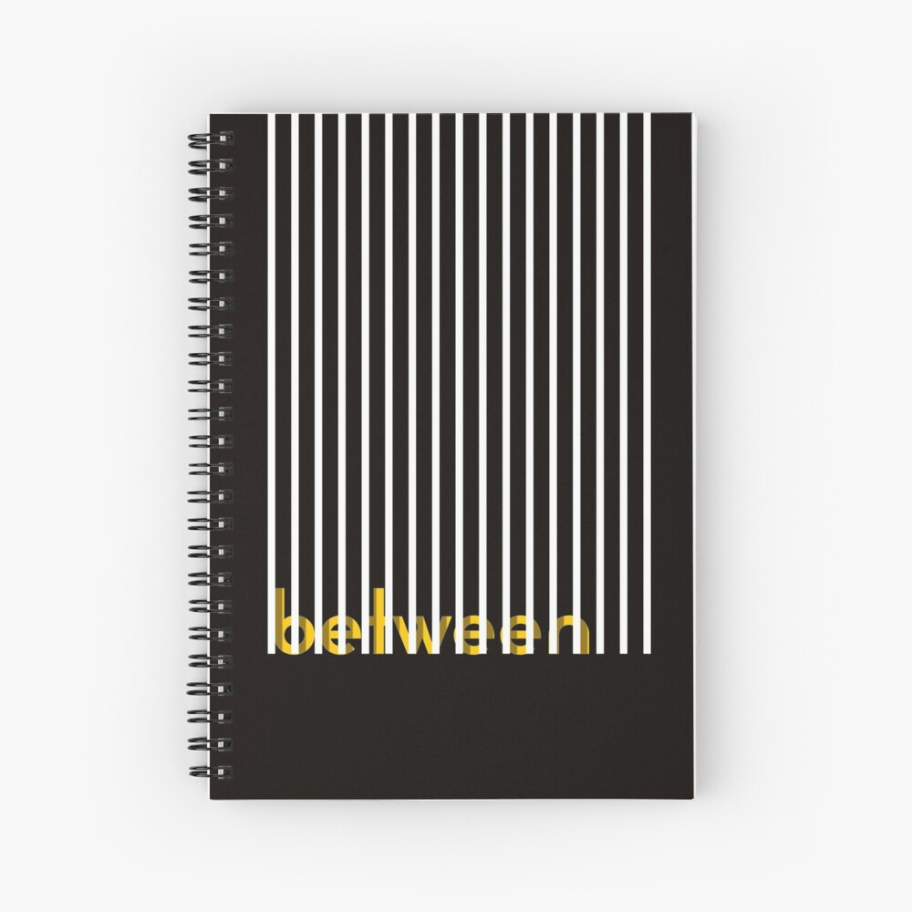 look beyond the obvious poster Spiral Notebook