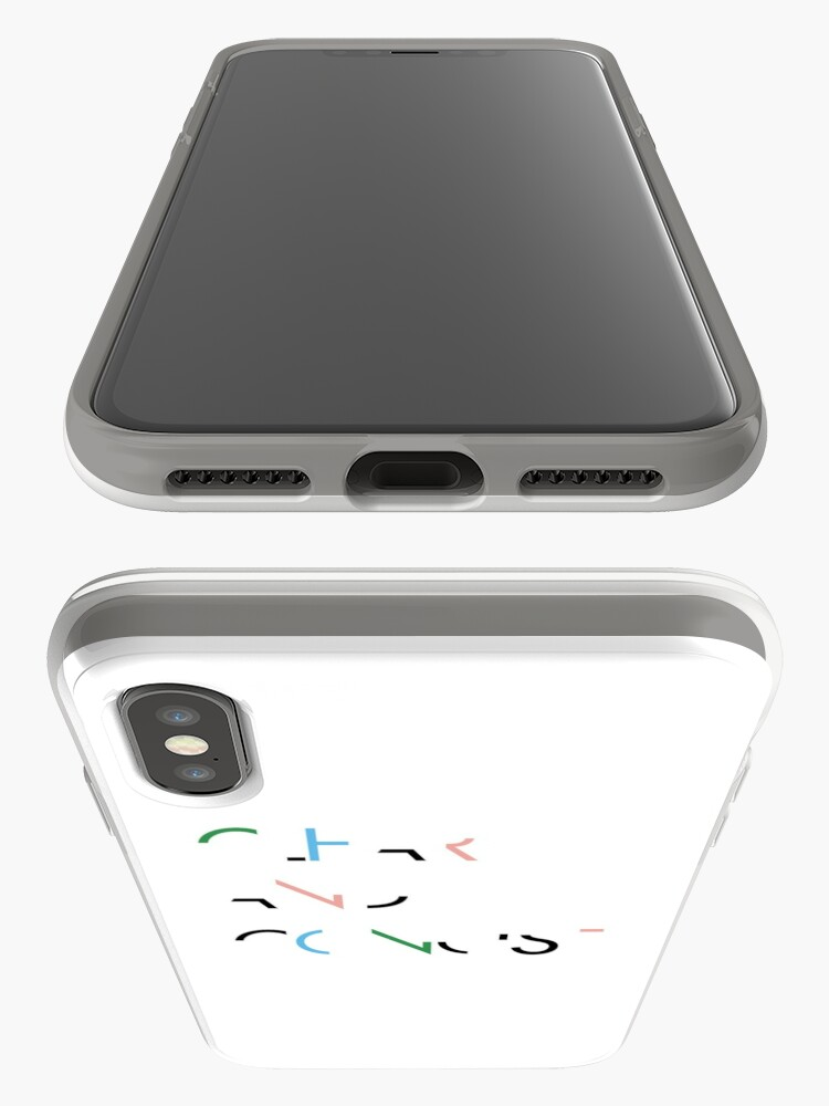 Alternate view of be clear and concise iPhone Case & Cover