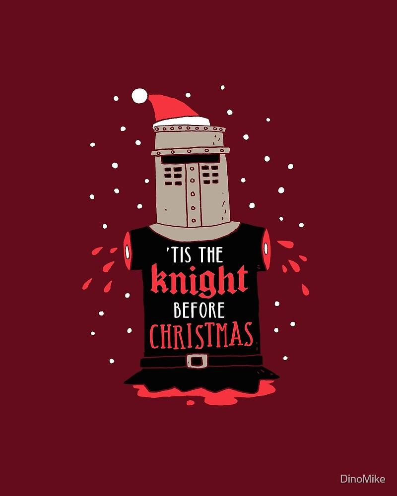 Christmas Knight by DinoMike