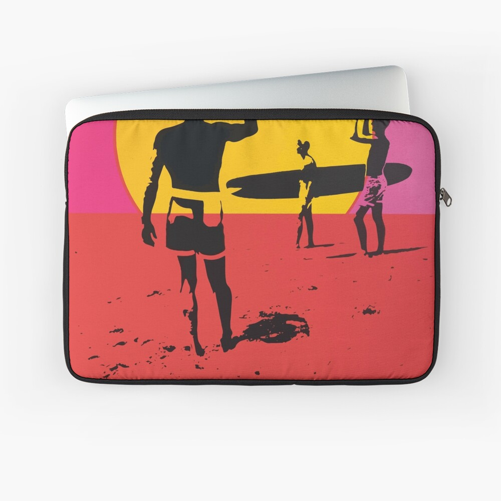 Endless Summer, 1966 Surf Sport Documentary Poster, Artwork, Prints, Posters, Tshirts, Men, Women, Kids Laptop Sleeve