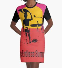 Endless Summer, 1966 Surf Sport Documentary Poster, Artwork, Prints, Posters, Tshirts, Men, Women, Kids Graphic T-Shirt Dress