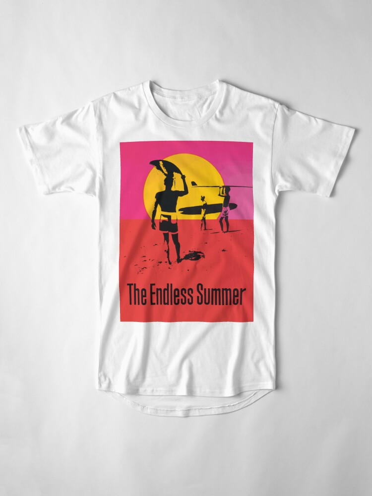 Alternate view of Endless Summer, 1966 Surf Sport Documentary Poster, Artwork, Prints, Posters, Tshirts, Men, Women, Kids Long T-Shirt