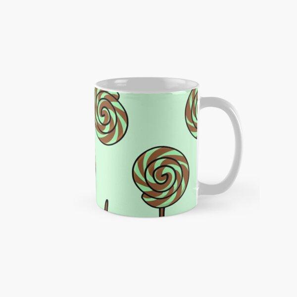 Mint Chocolate Lollipop Classic Mug