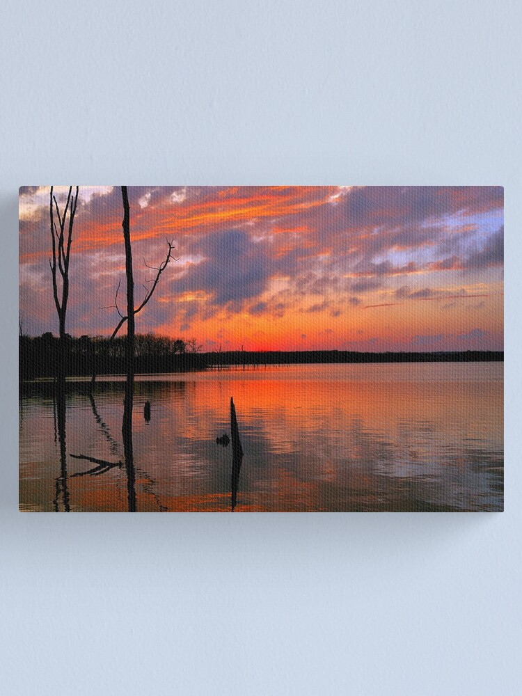 Alternate view of Reflection of  Color Canvas Print