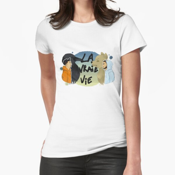 LA VRAIE VIE - BIGFLO ET OLI T-shirt moulant