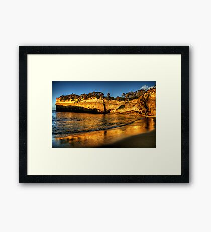 Loch Ard Reflections - The Great Ocean Road  - The HDR Experience Framed Print