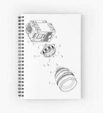 DSLR - PATENT Spiral Notebook