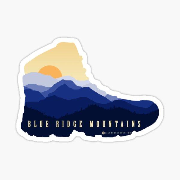Blue Ridge Hiking Boot Sticker