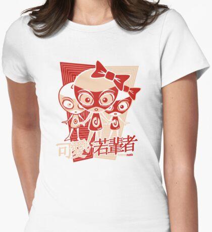 Doll Mascot Stencil T-Shirt