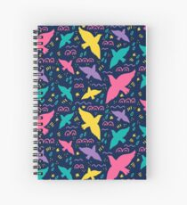 Birds fly Spiral Notebook