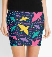 Birds fly Mini Skirt