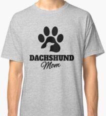 Dachshund Mom  Classic T-Shirt