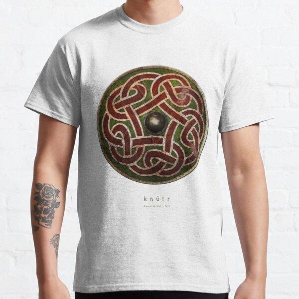 Bouclier entrelacs viking Saxon  T-shirt classique