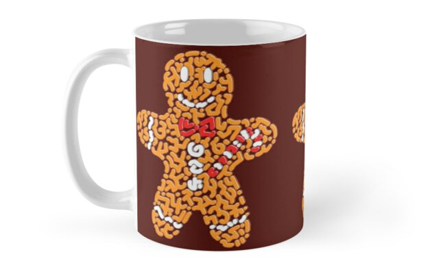 Gingerbread Man Classic Mugs